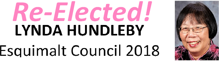 Re-elected Lynda Hundleby
