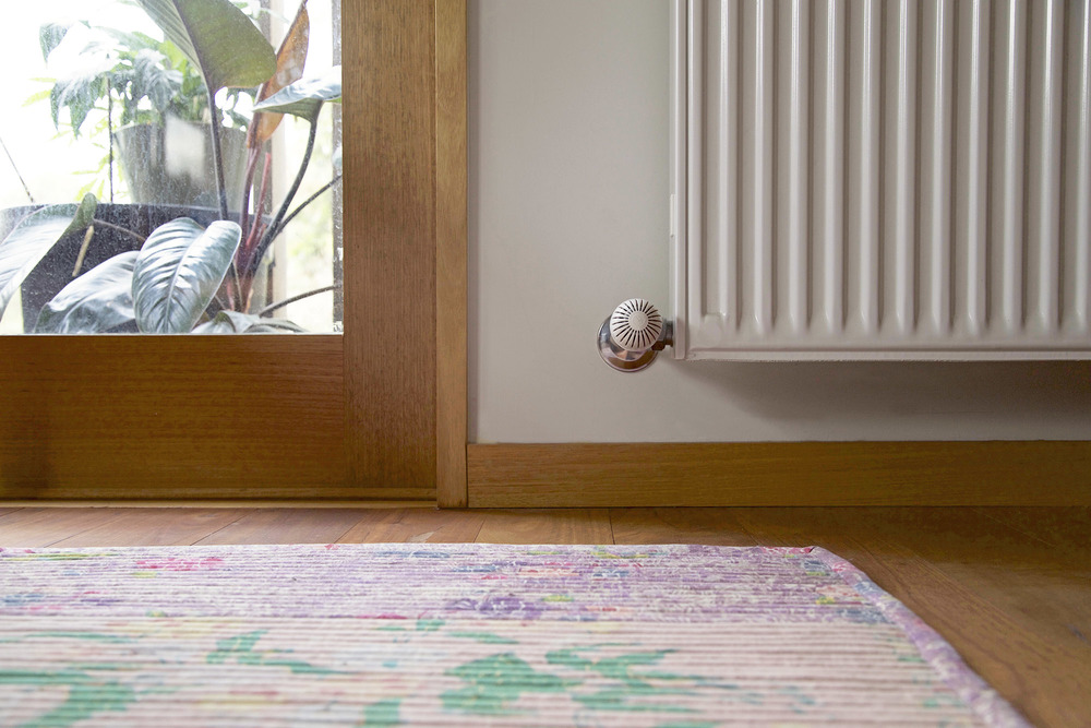 Hydronic heating is a benign system of heating - good for indoor air health