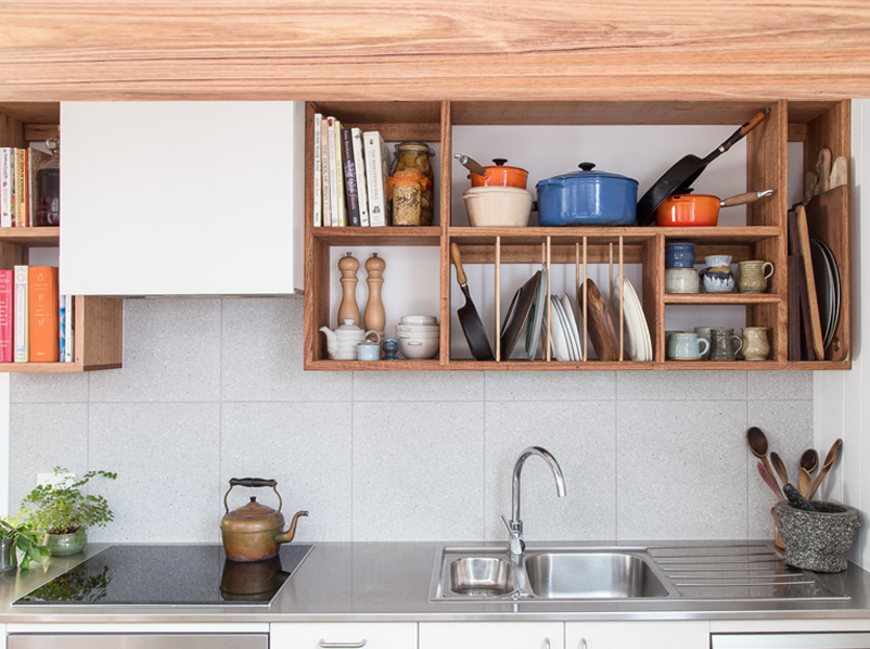 THE TINY KITCHEN WITH A BIG HEART