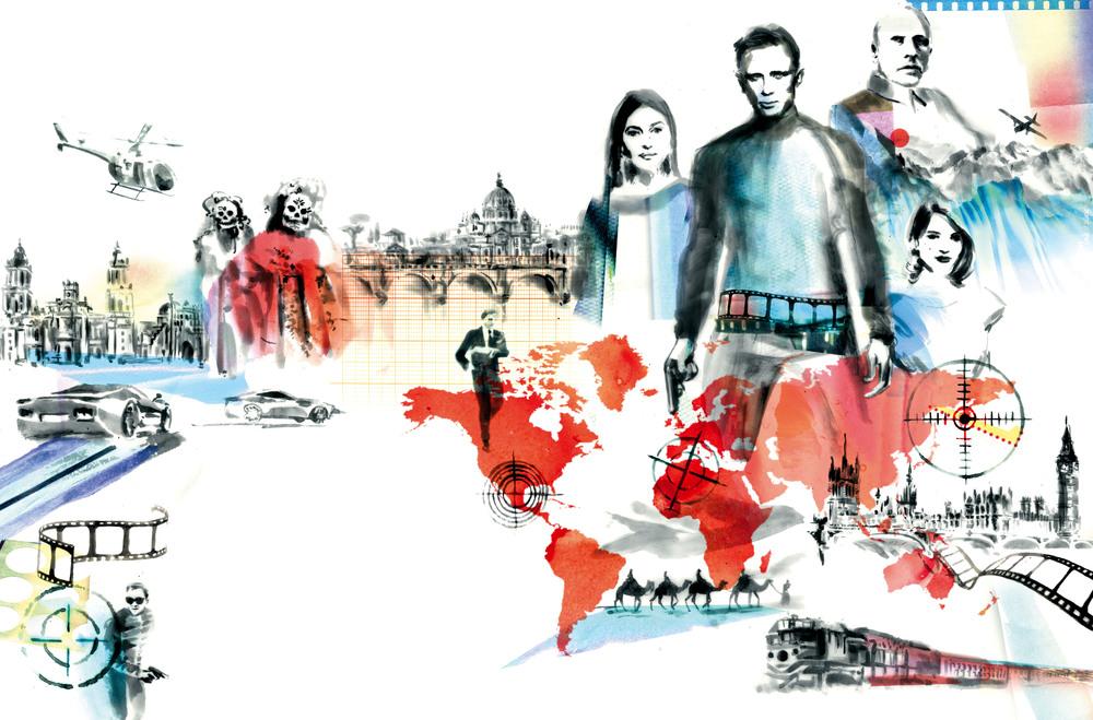 around the world with bond