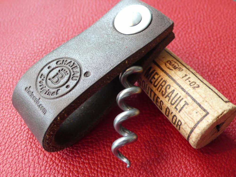 Tire-bouchon Château B avec personnalisation logo