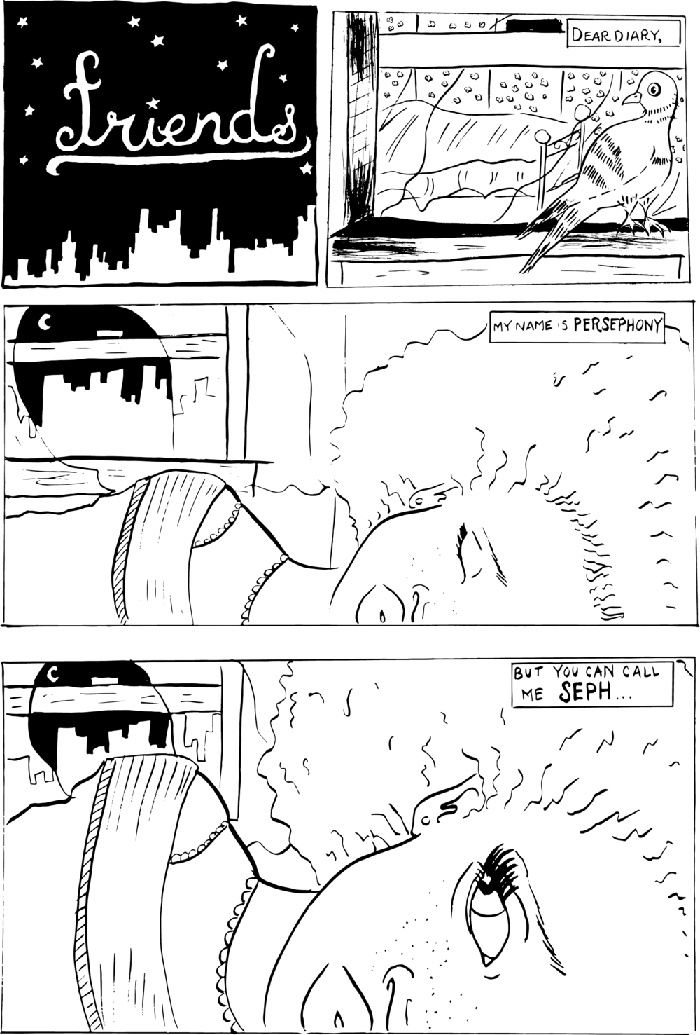 Comic Book + Layout for Pitch