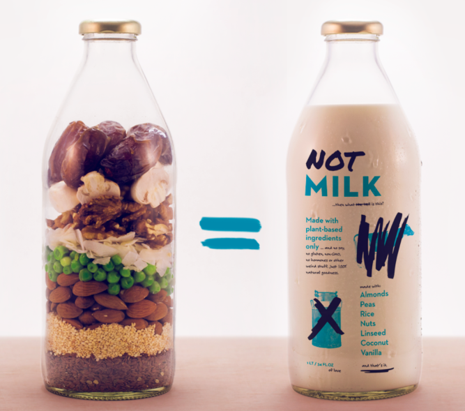 Making sustainable, plant-based food Credit: Not company