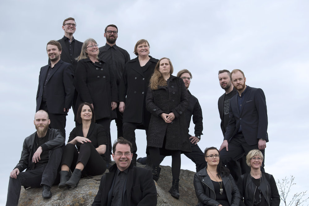 Photo by Kári Sverrisson, courtesy of the choir.