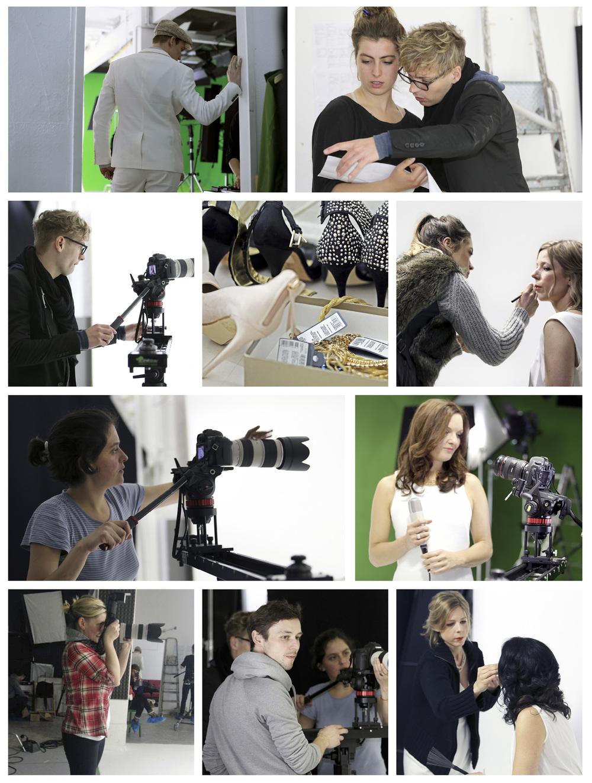 Impressionen von unserem Videodreh im ALLMOST FILM-PHOTO STUDIOin Berlin Kreuzberg mit Felix Räuber, Catalina Fernandez