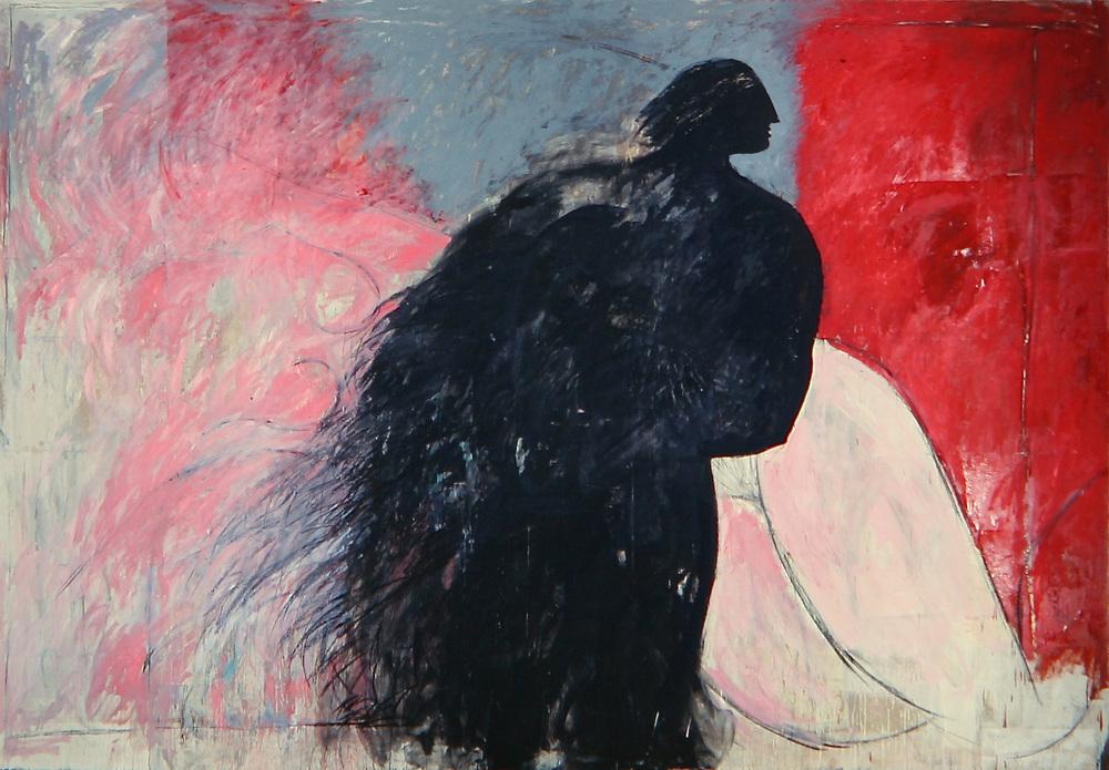 Senza titolo, 1984  Olio su tela  cm 275 x 400