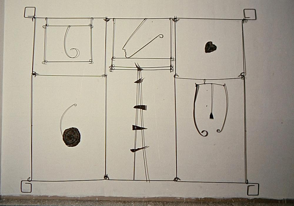 Senza titolo, 1986  Ferro  cm 320 x 420