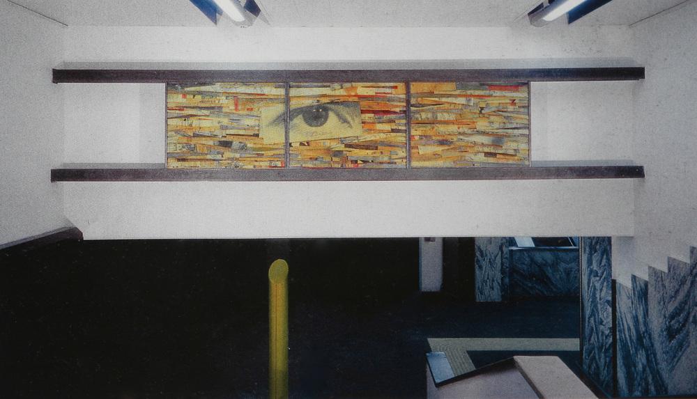 Senza titolo, 2000  Installazione permanente, stazione Cilea, Metropolitana di Napoli