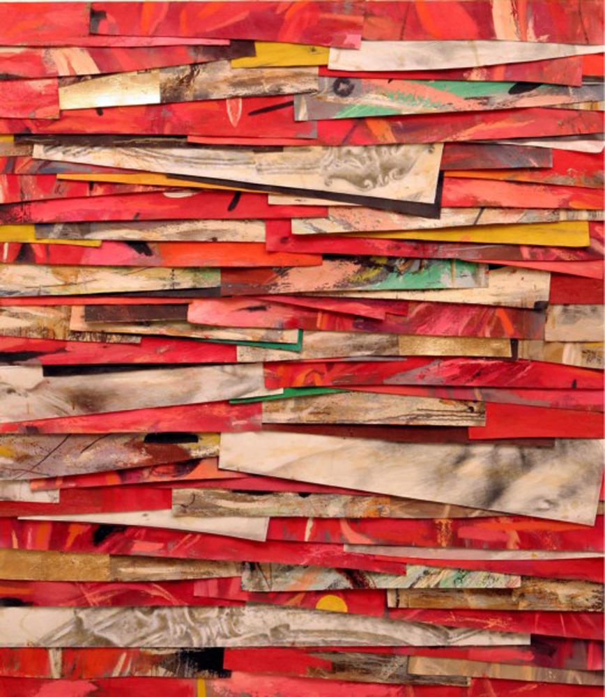 Senza titolo, 2006  Olio, grafite e cera su tela  cm. 160 x 140