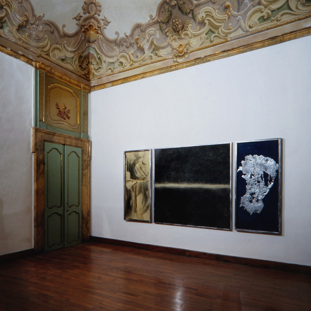 installazione, 1992  galleria piano nobile, perugia