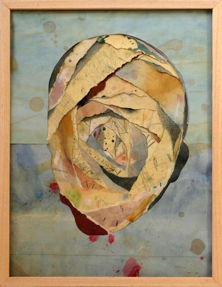 Senza titolo,  2012  Tecnica mista su carta  cm 41,5 x 54