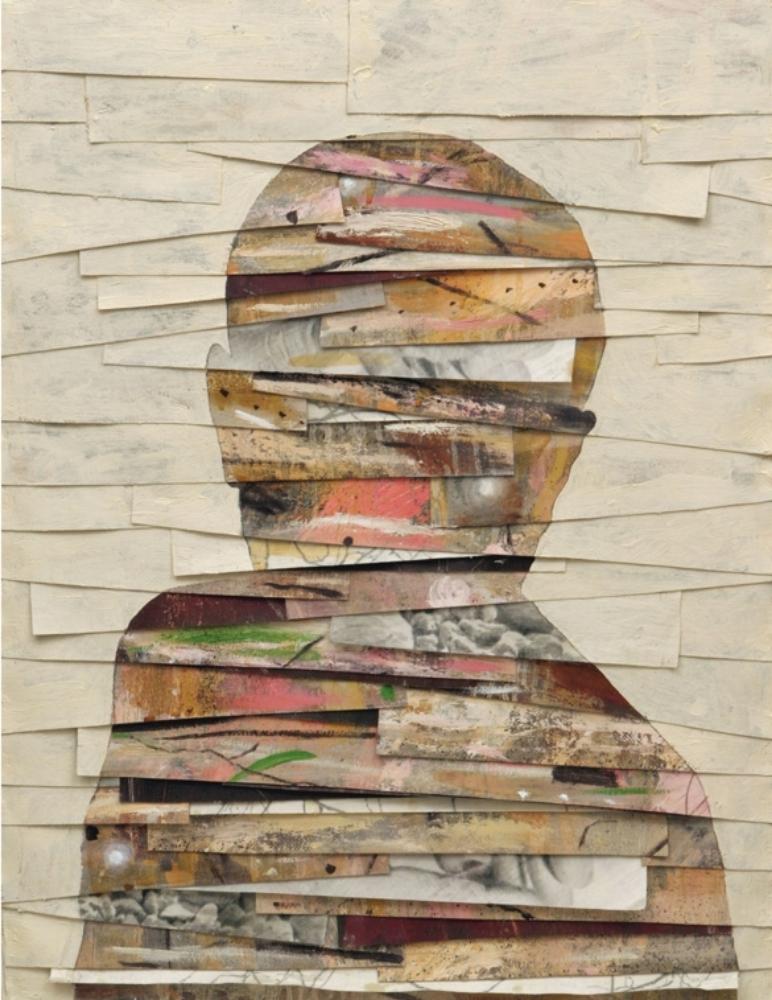 Senza titolo, 2007  Olio, grafite e cera su tela  cm 85 x 65