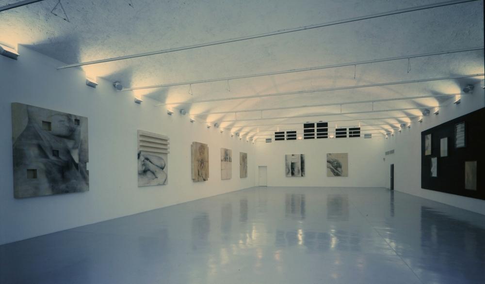 installazione, 1994  galleria manuela allegrini, brescia