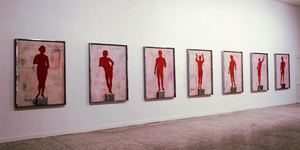Installazione , 1988  centro prossemico di cultura Napoli