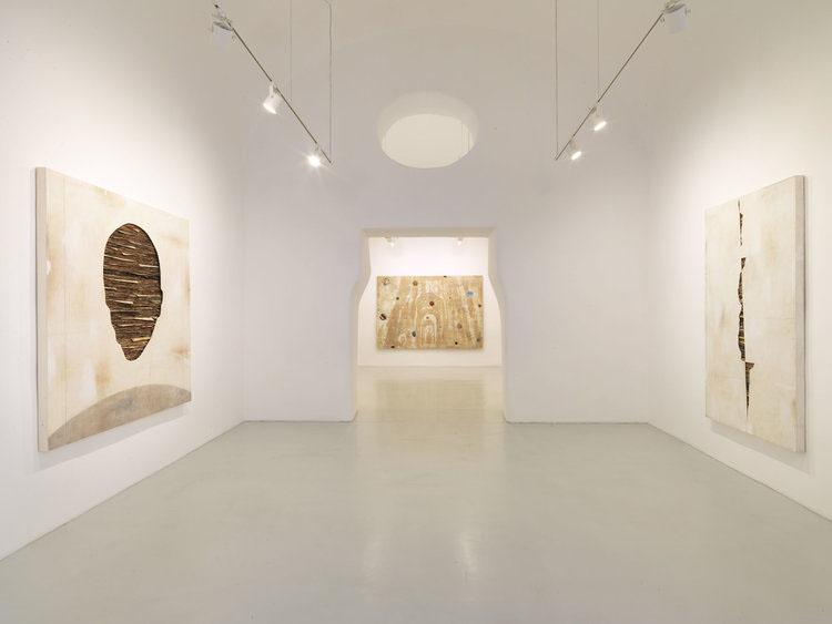 Umberto Manzo, 2018, installation view  Studio Trisorio Napoli