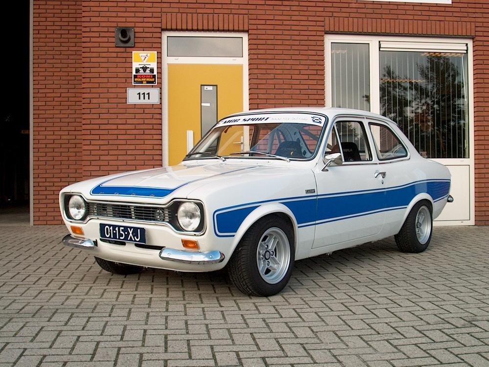 Ford Escort MK1 RS 2000 1973. Volledige restauratie. Klaar.
