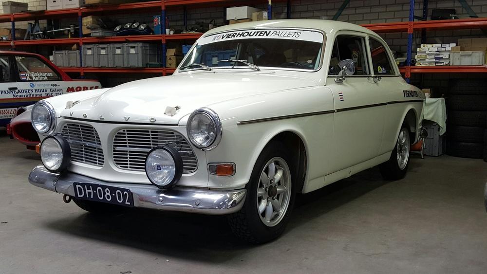 Volvo Amazone 122 S, bouwjaar 1965. Deel restauratie. Aanvang november 2015, gereed juni 2017.