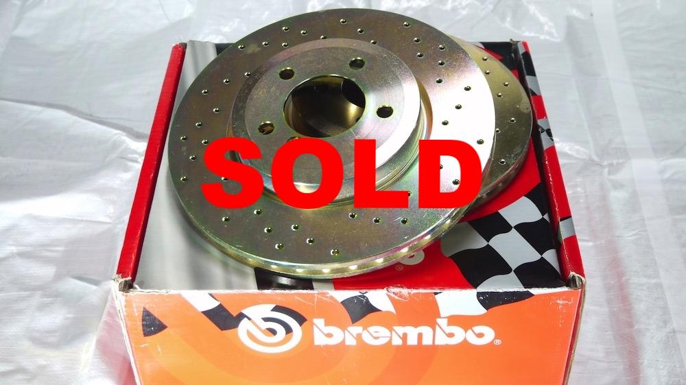 €99,00 Brembo remschijven FD 151 BMW 330 Xi (E46) van 02/98 tot 04/05 170kw