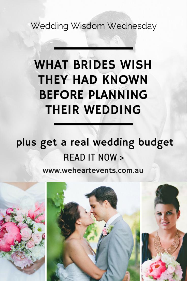 Real wedding budget Australia
