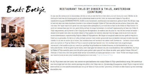 Frans Restaurant - Thijs by Dikker & Thijs - Reviews - Barts Boekje.png