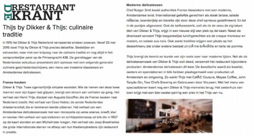 Frans Restaurant - Thijs by Dikker & Thijs - Reviews - De Restaurant Krant.png