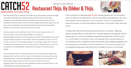 Frans Restaurant - Thijs by Dikker & Thijs - Reviews - Catch52-1.png