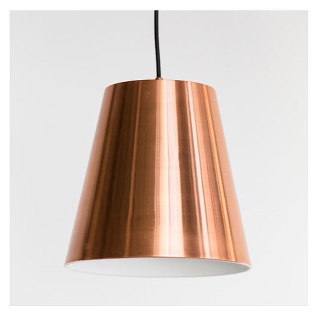 • COPPER X LUCILLE •  Shop our new pendant range, including the Lucille Pendant in Matt Black or Copper, via the link in our bio!