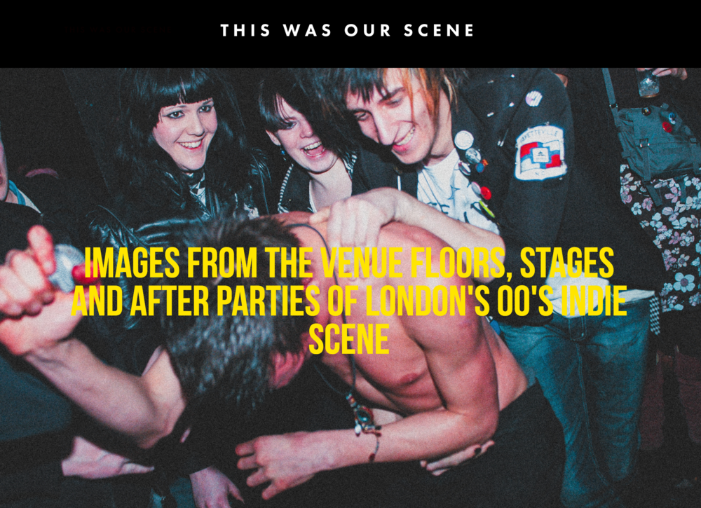 Gregory Nolan captured the energy, passion, and mayhem of the London indie scene.