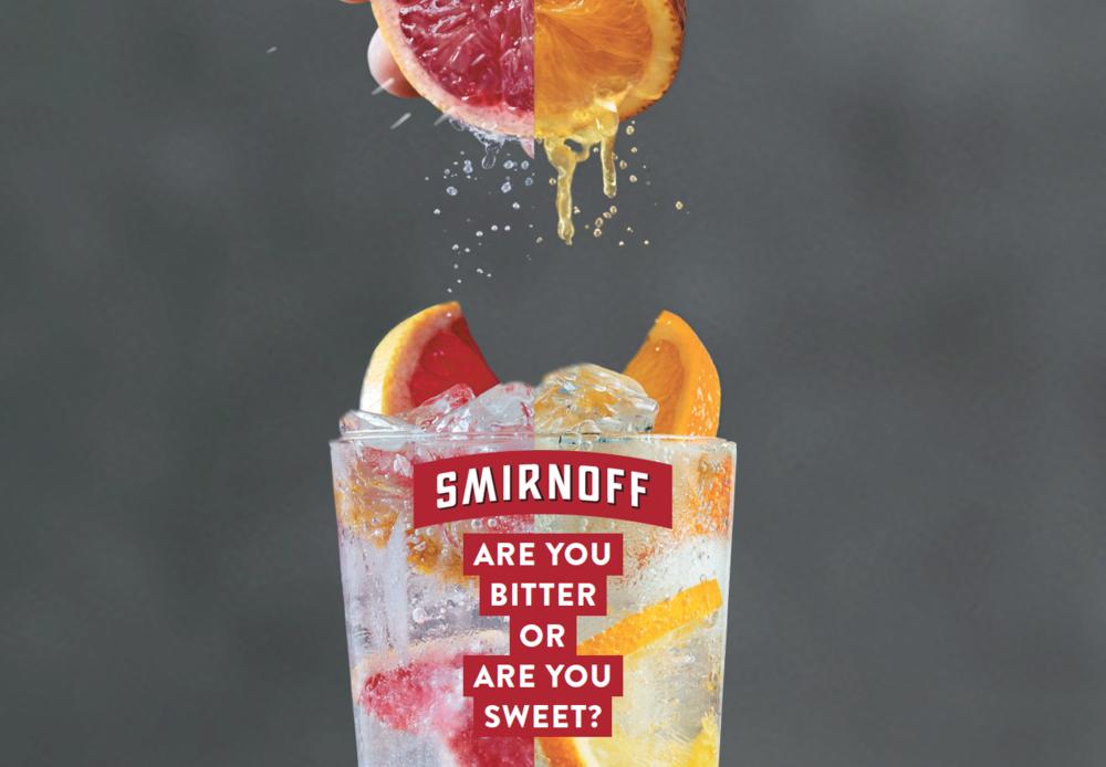 Smirnoff Diageo branding campaign