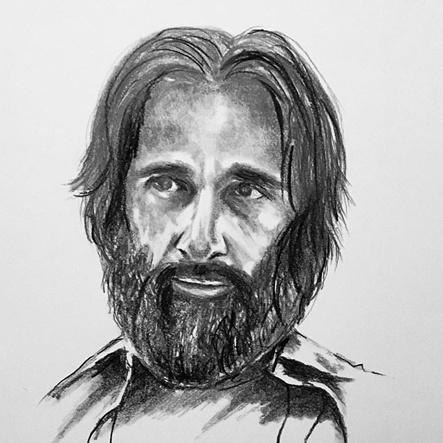 Exercising my drawing muscles. This is Steve Carell. 🌘 • • • •  #art #drawing #sketch #illustration #pencil #graphite #portrait #face #stevecarell #artist #draw #illustrator #sketchoftheday #artoftheday #visualart #ink #watercolour #watercolor #localartist #beard