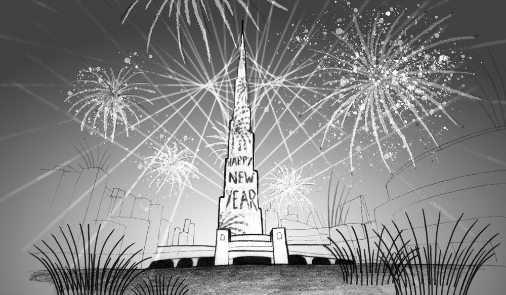 simoneone - Storyboard - Burj Khalifa