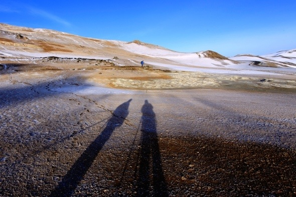 Photographing Namafjal, Iceland