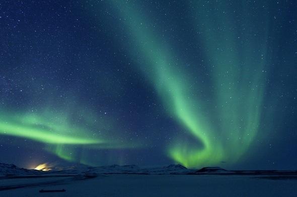 Northern Lights over Krafla