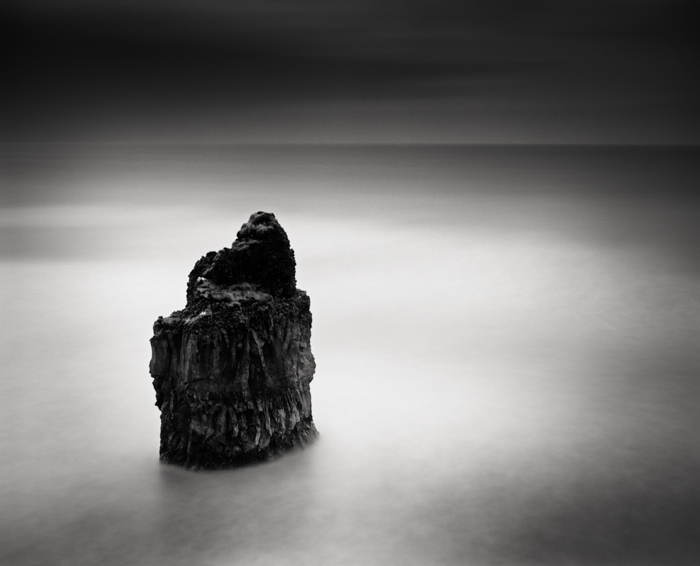 Title: Expectations, Camera: Ebony RSW 45, Lens: Schneider 90 mm, Filter: Lee Big Stopper, Film: Kodak T-Max 100, Exposure: 240″ , f 16, Vik, Iceland, 2012