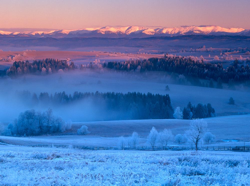 Cold and Blue, Detvianska Huta, Slovakia