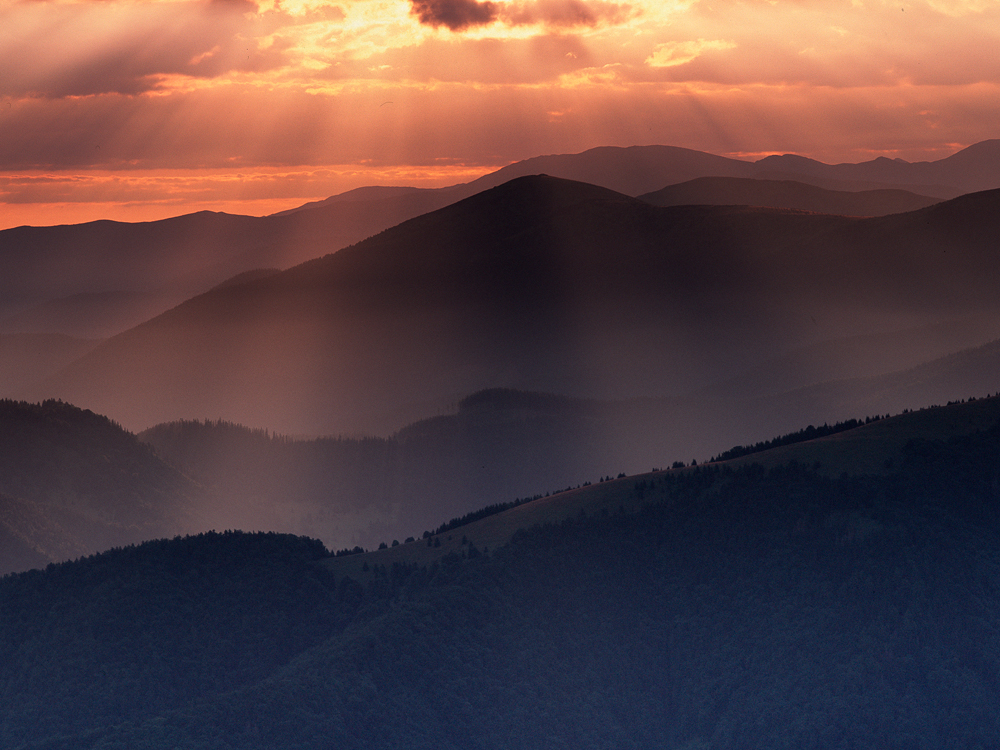Story of Hills and Light, Velka Fatra, Slovakia