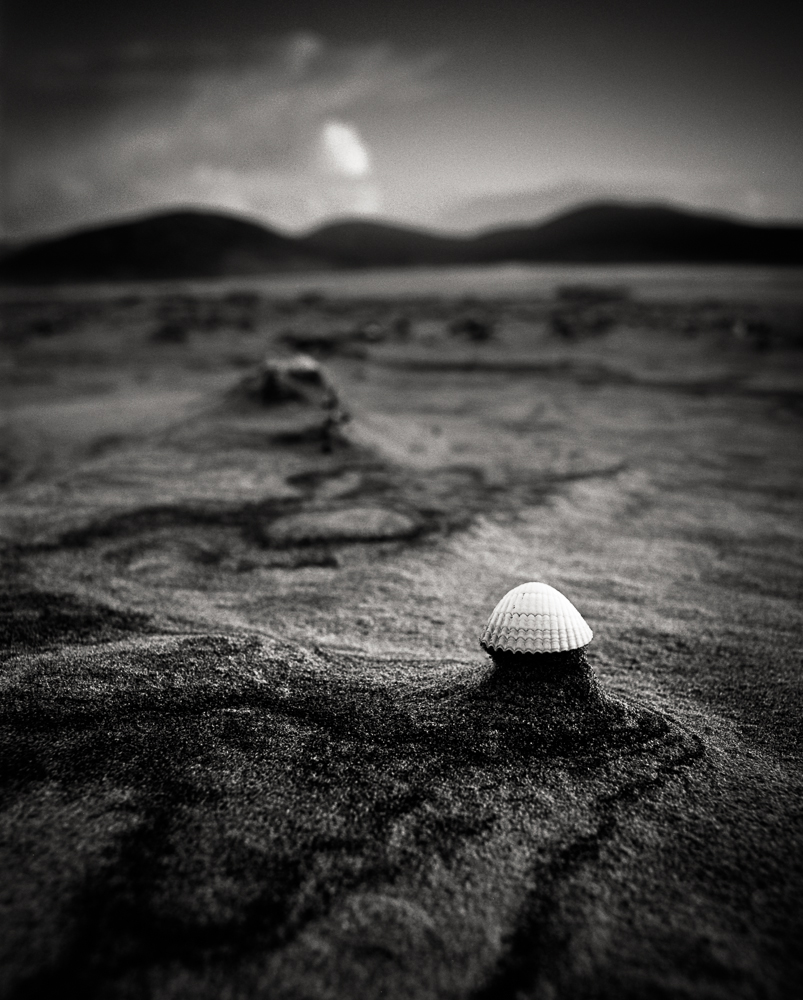 Title: Small World 1, Camera: Mamiya RB 67 Pro SD, Lens: Sekor 50 mm, Film: Kodak T-Max 100, Exposure: 1/15, f 16, Harris, Scotland, 2014