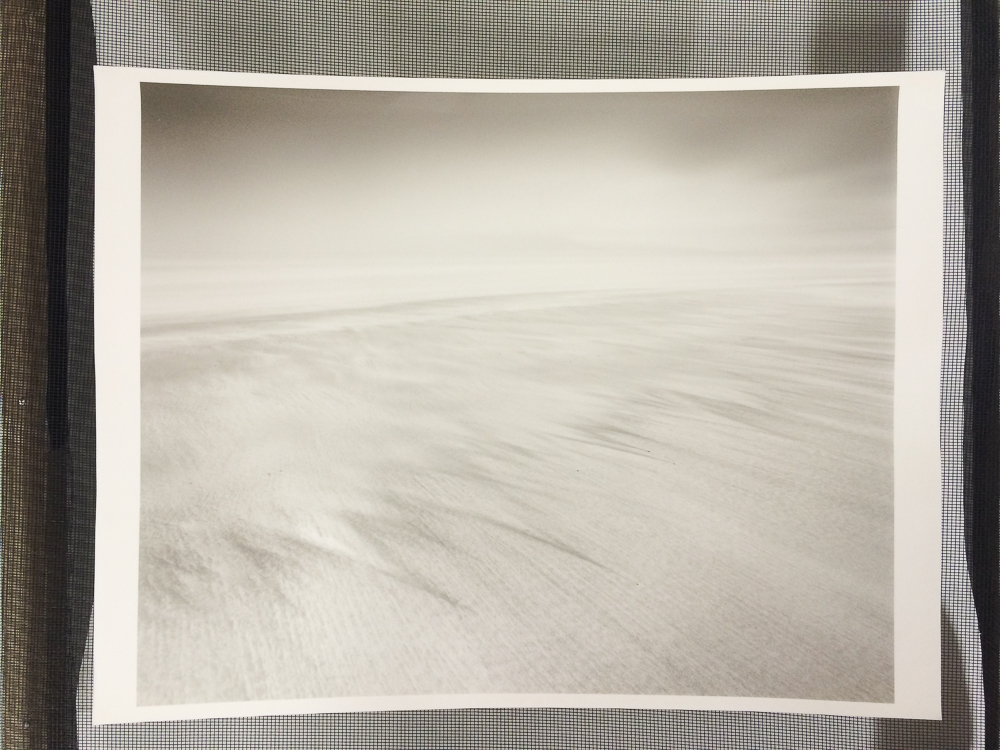 The final silver print