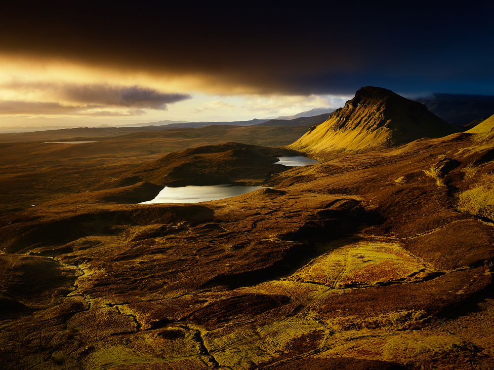 Sunrive over Quiraing, Isle of Skye, Scotland
