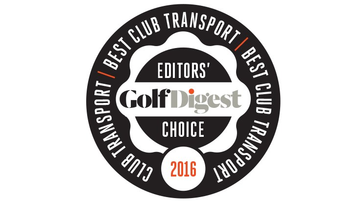 """""""Our winner in the New Age category is Golfboard, a combination of electronic snowboard and golf cart that allows you to traverse the course by maneuvering the device while standing on it, with your clubs right in front of you. Golfboard is fun, and it provides a bit of a workout for those feeling guilty about not walking."""" — Golf Digest"""