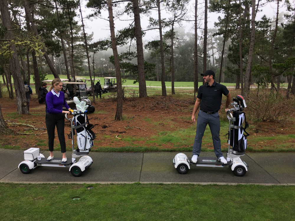 Detroit Tigers pitching ace Justin Verlander leads the way as he and supermodel fiancé Kate Upton Surf the Earth on their GolfBoards.
