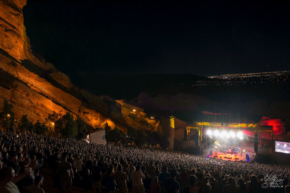 Flogging Molly live at Red Rocks, 2016.