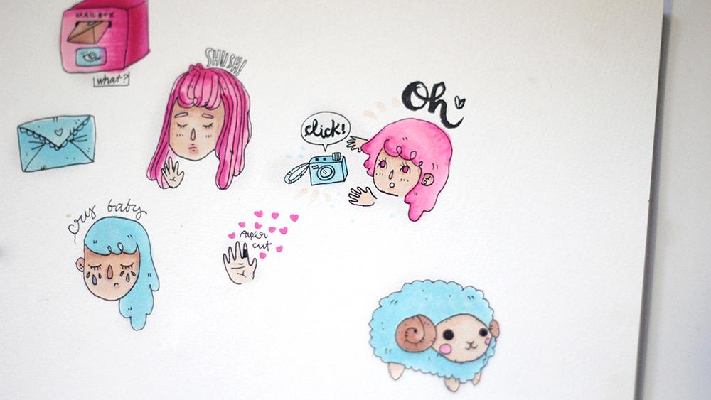 Some cute random peeps~