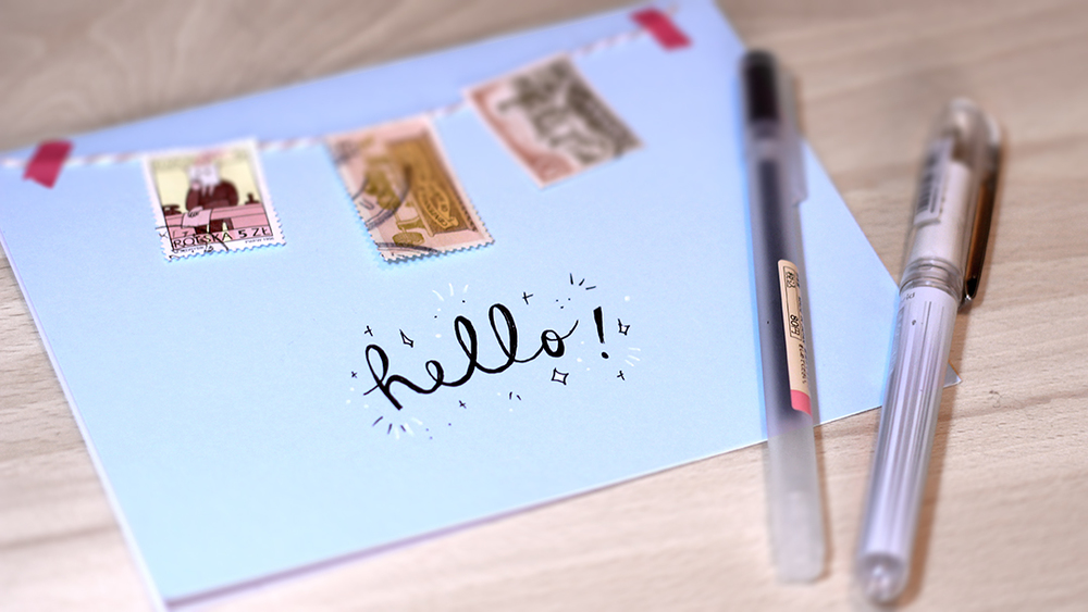 Pen pals for adults snail mail