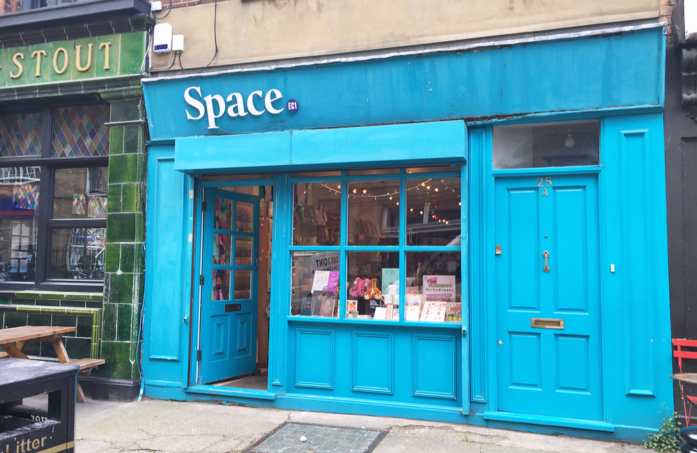 ▼ Space, 25 Exmouth Market, Clerkenwell, London EC1R 4QL