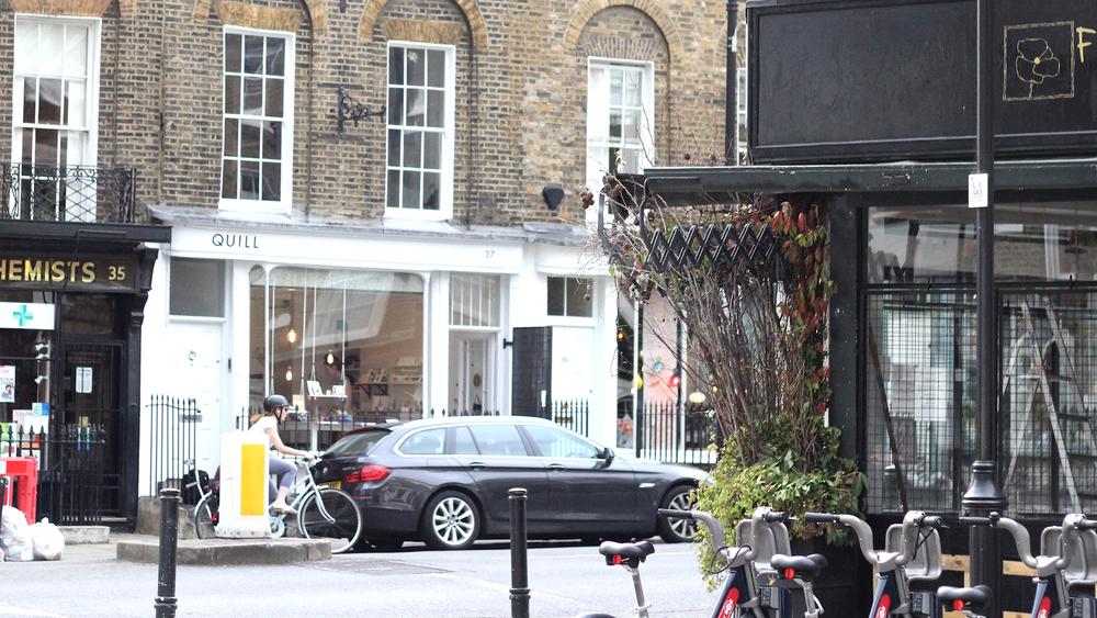 ▼Quill:37 Amwell Street, London EC1R 1UR