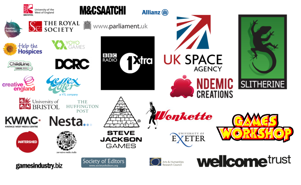 Just some of the clients we've worked with.