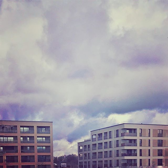 #würzburg #campus #wolken #urban