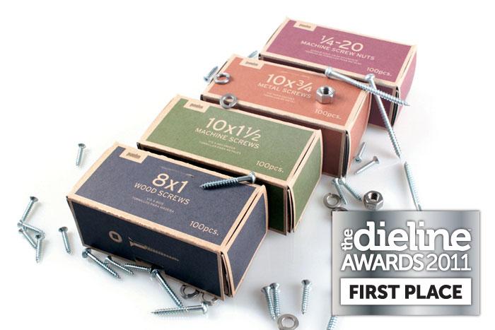Данная упаковка заняла первое место на международном конкурсеThe Dieline Awards 2011
