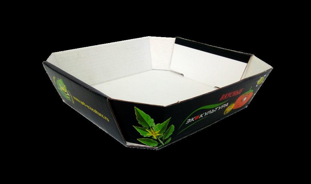 """Лоток для упаковки и хранения томатов для """"Экокультура"""""""
